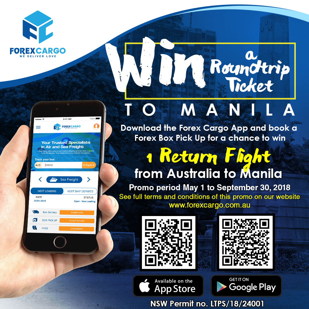 Get the Chance to Win a roundtrip flight to Manila via Philippine Airlines
