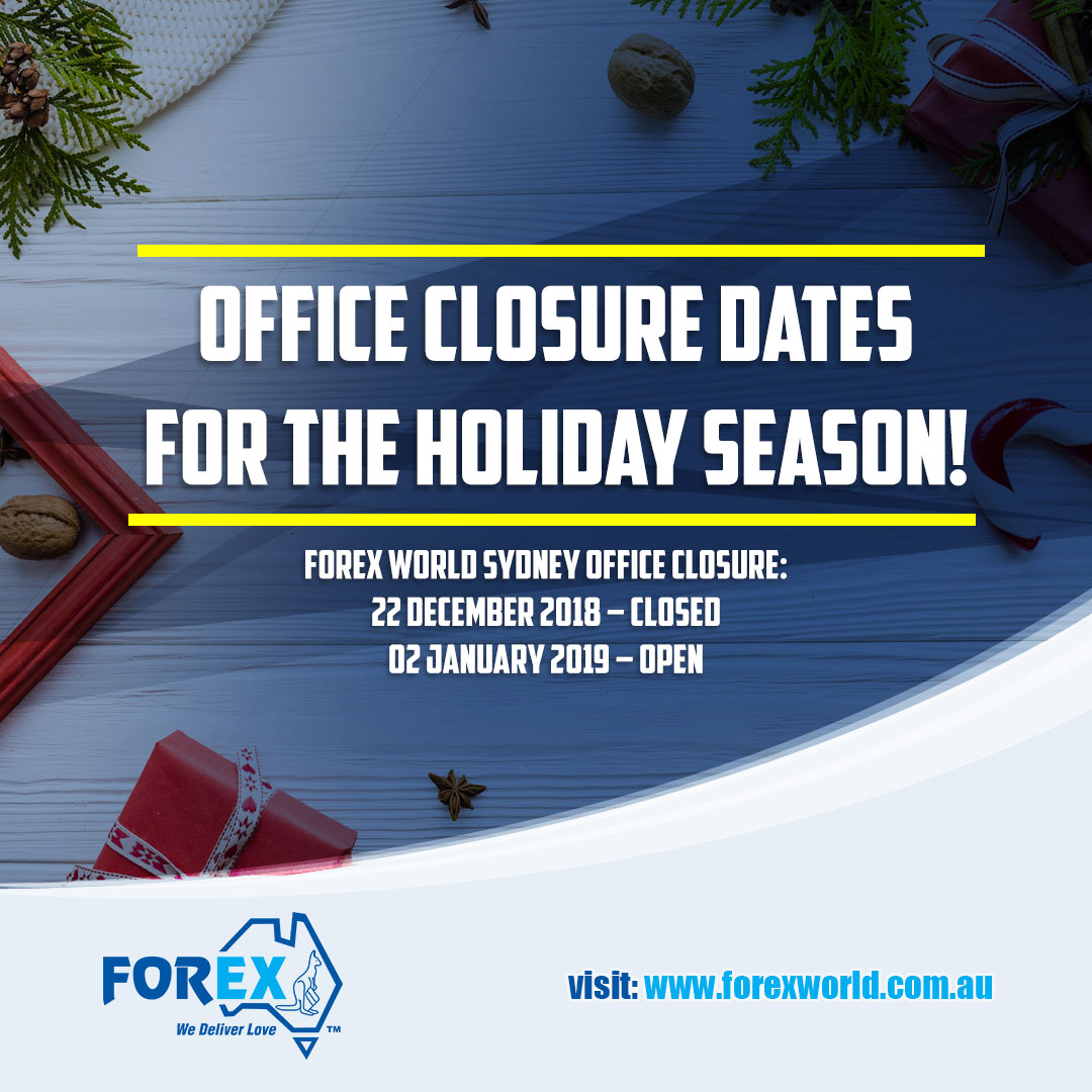 Holiday Season Office Closure Advisory!
