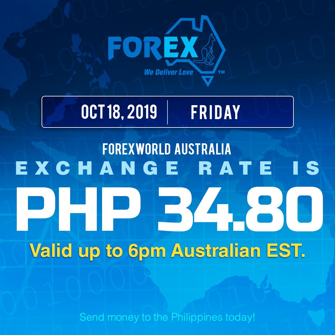 Forex rates australia