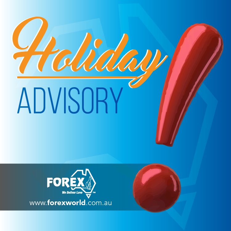 Australia Day Holiday Closure Advisory